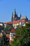 Prague Castle in Prague Czech Republic Royalty Free Stock Images