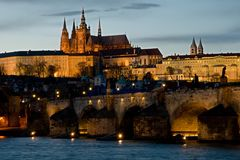 Prague castle, Prague, Czech republic Royalty Free Stock Photography