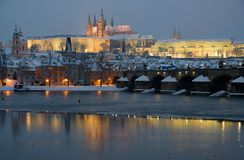 Prague castle, Prague, Czech republic Royalty Free Stock Images