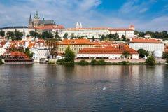 Prague Castle in Prague, Czech Republic Stock Images