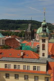 Prague Castle and Red Roofs, Czech republic Royalty Free Stock Photo