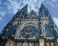 Prague Castle - Saint Vitus Cathedral Royalty Free Stock Photography