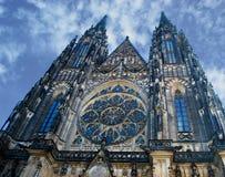 Prague Castle - Saint Vitus Cathedral Royalty Free Stock Photography