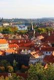 Prague castle Saint Vitus Cathedral Stock Images