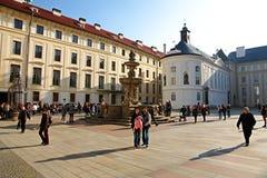 Prague castle Royalty Free Stock Image