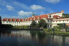 Prague Castle stock image