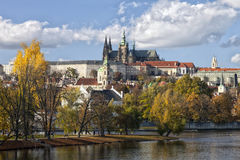 The Prague Castle Stock Photo