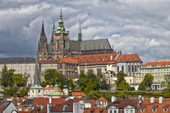 The Prague Castle Stock Image