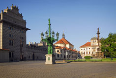 Prague Castle square Royalty Free Stock Photography