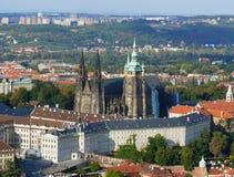Prague castle. St.Vitus Cathedral in Prague, Czech Republic - Prague is UNESCO World Heritage Site Royalty Free Stock Photo
