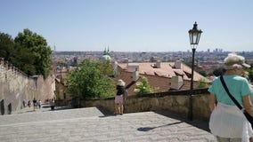 The Prague Castle stock footage