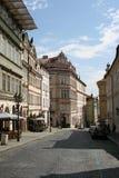 Prague Castle_streets Stock Photo