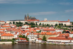 Prague Castle in summer Royalty Free Stock Photos