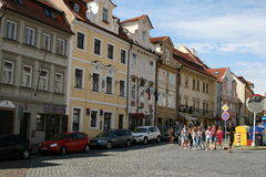 Prague Castle_tourists Stock Photography