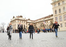 Prague Castle Stock Photo
