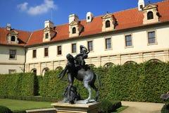 Prague Castle, Valdštejn Garden, Prague, Czech Republic Royalty Free Stock Photo