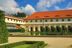 Prague Castle, Valdštejn Garden, Prague, Czech Republic Royalty Free Stock Image