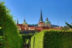 Prague Castle, Valdštejn Garden, Prague, Czech Republic Stock Photo