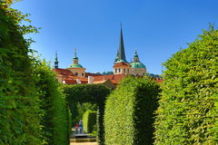 Prague Castle, Valdštejn Garden, Prague, Czech Republic Stock Images