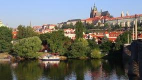 Prague Castle stock video