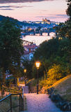 Prague Castle_Vysehrad view Royalty Free Stock Image