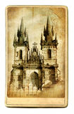 Prague cathedarl royalty free stock photo
