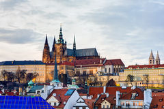Prague Cathedral Royalty Free Stock Image