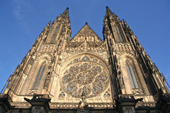 Prague Cathedral Stock Photography