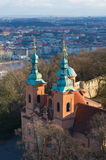 Prague cathedral Royalty Free Stock Images