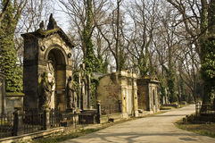 Prague - Cemetery Royalty Free Stock Photo