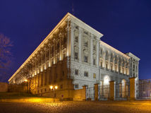 Prague - Cernin palace Stock Photography