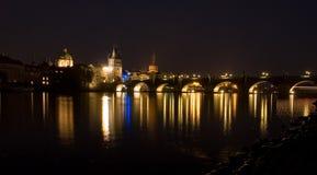 Prague Charles överbryggar Royaltyfri Foto