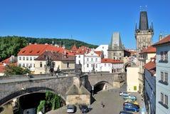 Prague, Charles Bridge Royalty Free Stock Image