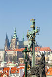 Prague, charles bridge Stock Image