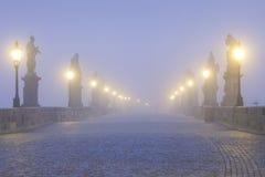 Prague charles bridge Royalty Free Stock Image