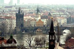 Prague - Charles bridge royalty free stock images