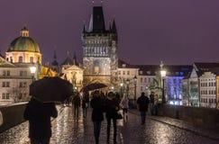 Prague Charles Bridge Royalty Free Stock Photography