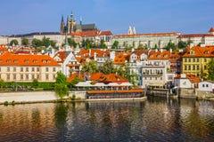 Prague Charles bridge, Czech Republic Royalty Free Stock Images
