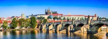 Prague, Charles Bridge, Czech Republic Royalty Free Stock Images