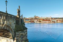 Prague, Charles Bridge, Czech Republic Royalty Free Stock Photo