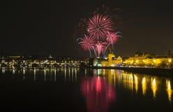 Prague - Charles bridge, Czech Republic royalty free stock photo