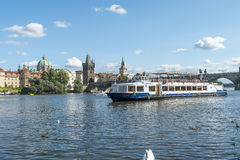 Prague, Charles Bridge Stock Photos