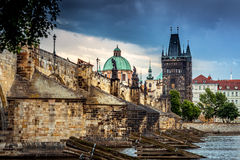 Prague Charles Bridge -1 royalty free stock photography