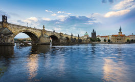 Prague Charles Bridge -5 Stock Photos