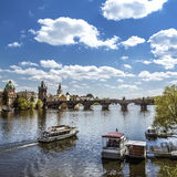 Prague, Charles Bridge (Karluv Most) Stock Photography
