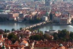Prague, Charles Bridge Stock Image