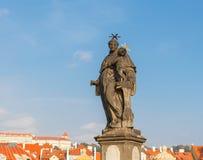 Prague. Charles Bridge. Stock Image