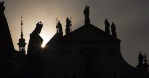 Prague - Charles IV statue Stock Image