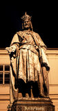 Prague Charles monument 02 Royaltyfria Bilder
