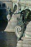 Prague - Chehuv bridge Royalty Free Stock Photos